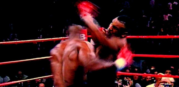 Cena do filme ''Tyson'', dirigido por James Toback, sobre o lutador Mike Tyson