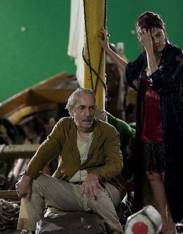 """Paulo José e Marieta Severo contracenam no filme """"Quincas Berro D'Água"""""""