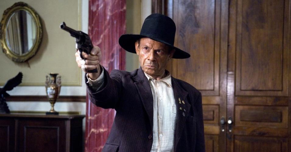 José Wilker é Zeca Diabo na adaptação para o cinema de