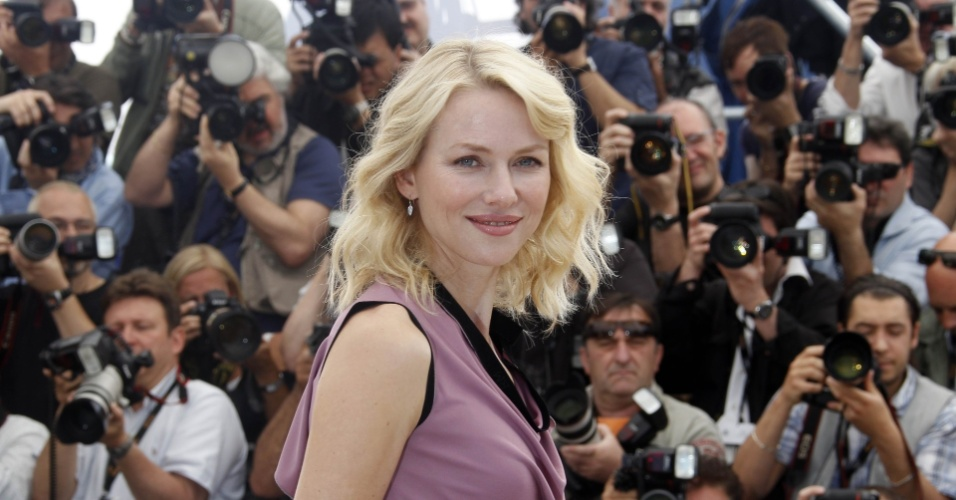 Naomi Watts posa para fotos na divulgação do filme ''Fair Game'', no Festival de Cannes