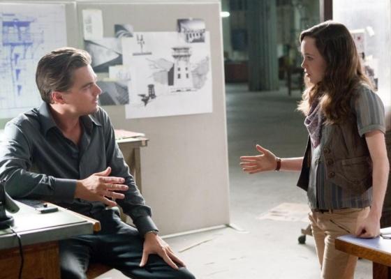 Leonardo DiCaprio e Ellen Page contracenam em ''A Origem