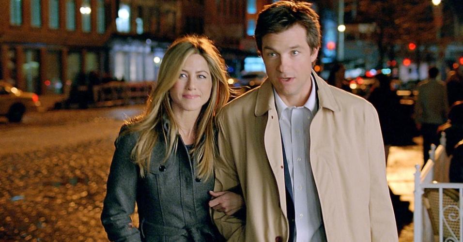Jennifer Aniston e Jason Bateman em ''Coincidências do Amor''