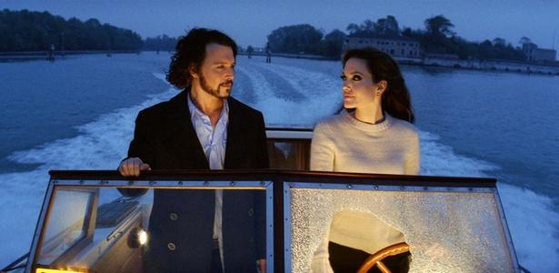 Johnny Depp e Angelina Jolie estão em