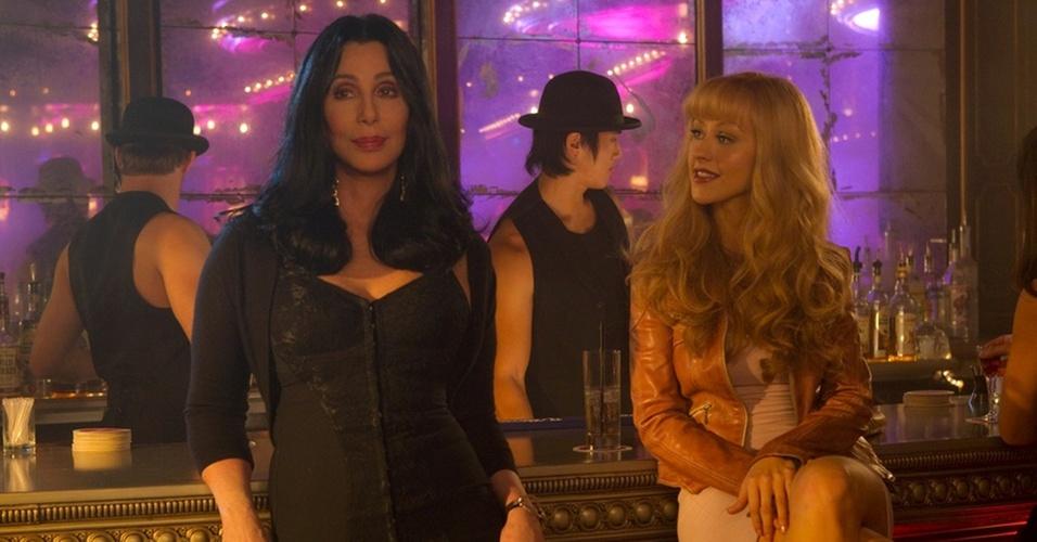 Cher e Christina Aguilera estão no musical