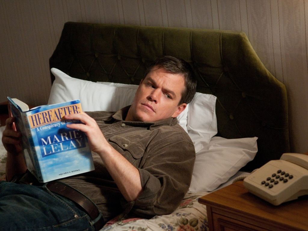 Matt Damon interpreta o vidente George, no filme