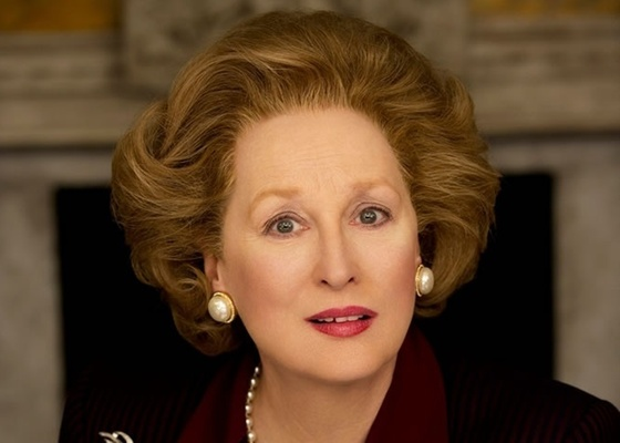 Meryl Streep interpreta Margaret Thatcher em The Iron Lady