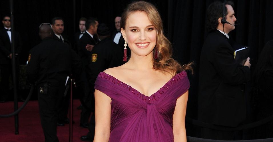 """Natalie Portman, indicada como melhor atriz por """"Cisne Negro"""""""