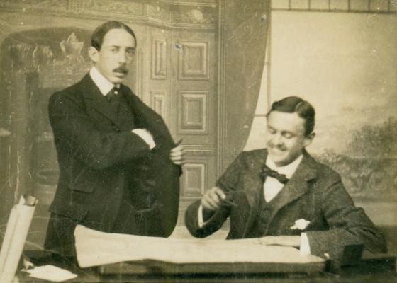 Imagem do documentário ''Santos Dumont: Pré-cineasta?, de Carlos Adriano