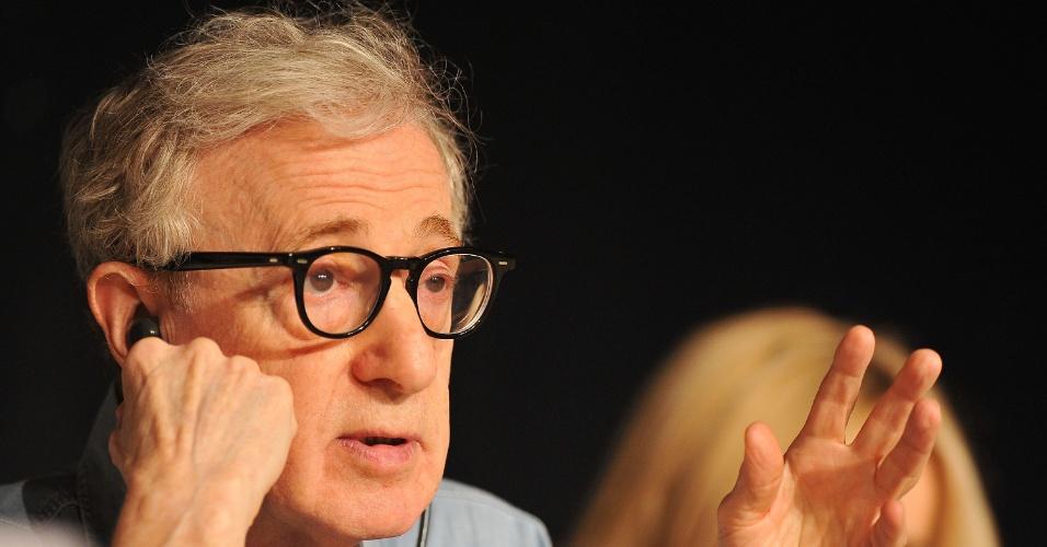 Woody Allen participa da coletiva de imprensa sobre