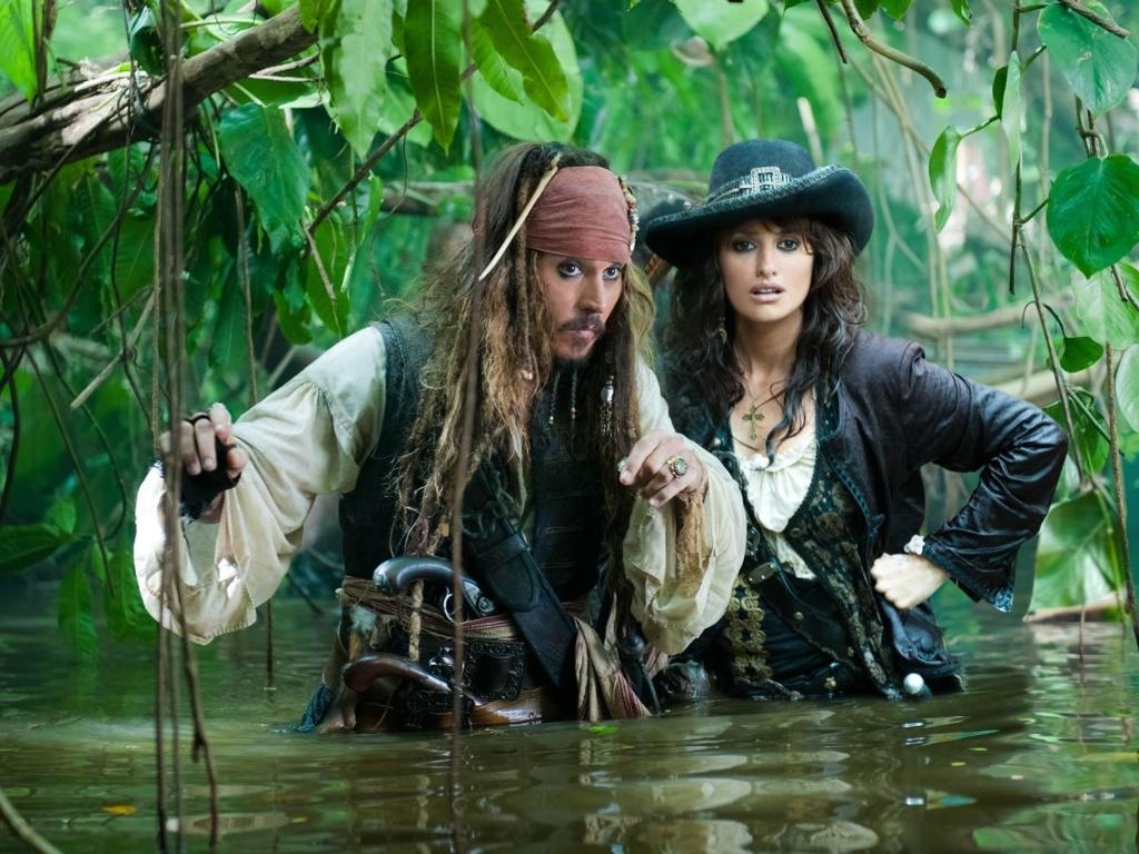 Johnny Depp e Penélope Cruz contracenam em