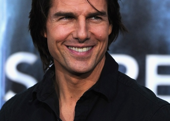 O ator Tom Cruise na pr�-estreia de Super 8, no in�cio do m�s