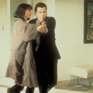 "Cena de ""Pulp Fiction - Tempo de Violência"""