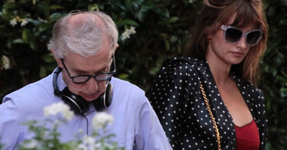 Woody Allen dá início à gravações de