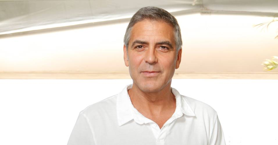 George Clooney participa da apresentao de 