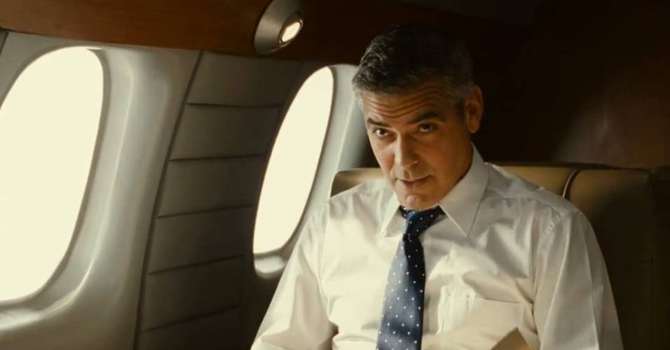 George Clooney em cena de 
