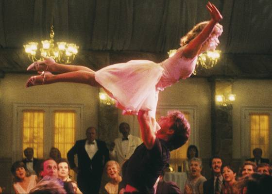 Cena do filme Dirty Dancing