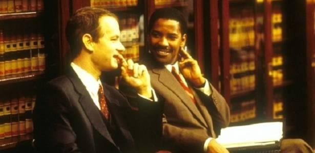 Tom Hanks e Denzel Washington em cena de
