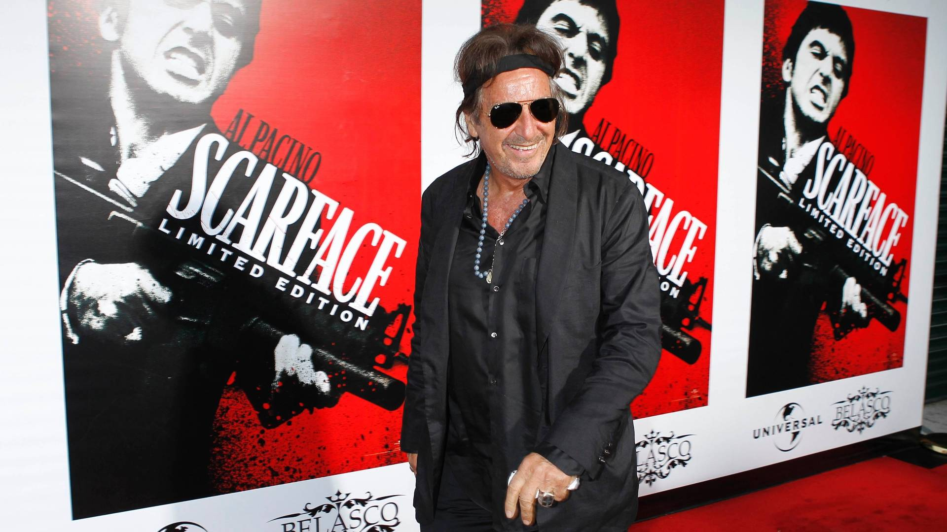 O ator Al Pacino em evento de lançamento do Blu-ray de