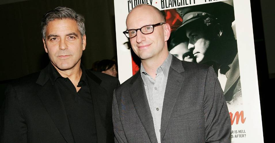 George Clooney e Steven Soderbergh em exibio especial de 