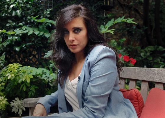 A libanesa Nadine Labaki, diretora do filme Where Do We Go Now?, vencedor do Festival de Cinema de Toronto