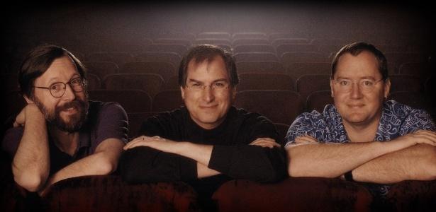 Ed Catmull, Steve Jobs e John Lasseter: os criadores da Pixar