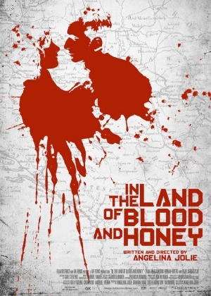"Cartaz de ""In the Land of Blood and Honey"", de Angelina Jolie"