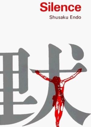 """Capa do livro """"Silence"""", de Shusaku Endo"""
