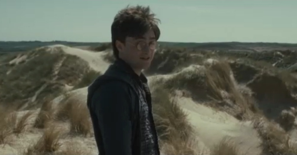 Daniel Radcliffe em cena extra do DVD de 