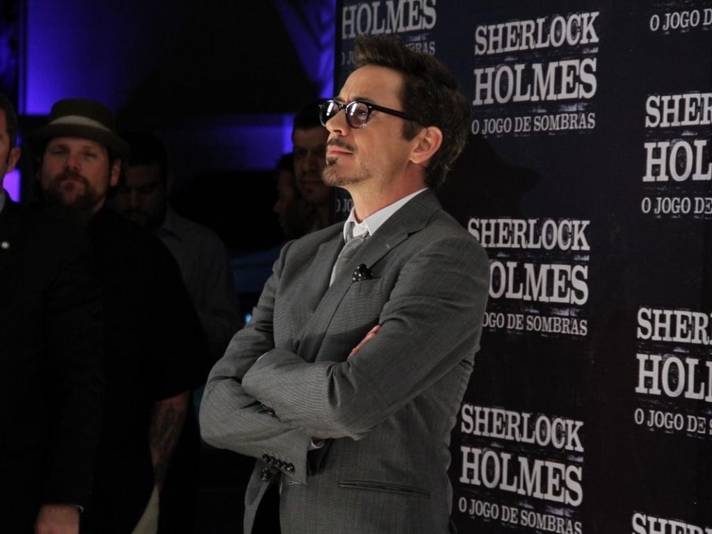 O ator Robert Downey Jr., protagonista de
