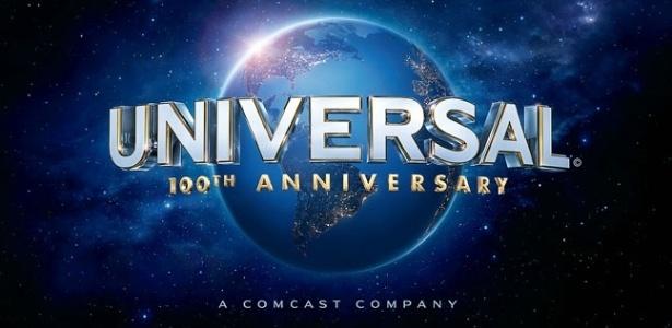Logo comemorativo de 100 anos do Universal Studios (2012)
