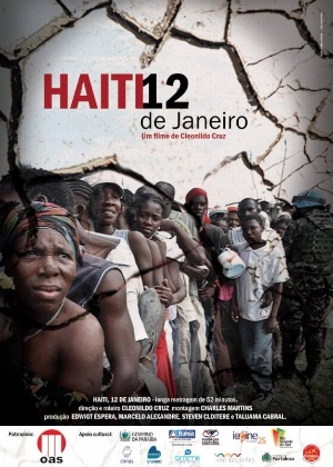 Pôster do filme Haiti 12, de Cleonildo Cruz
