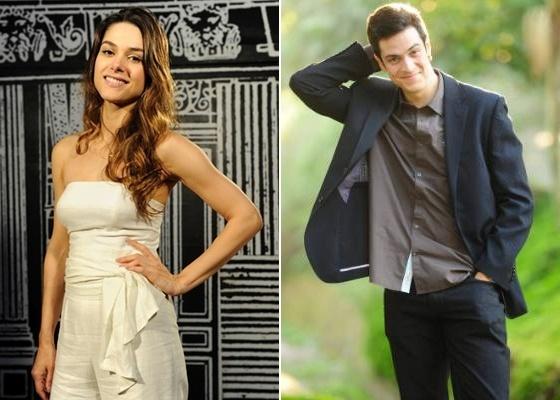 Os atores Fernanda Machado e Mateus Solano