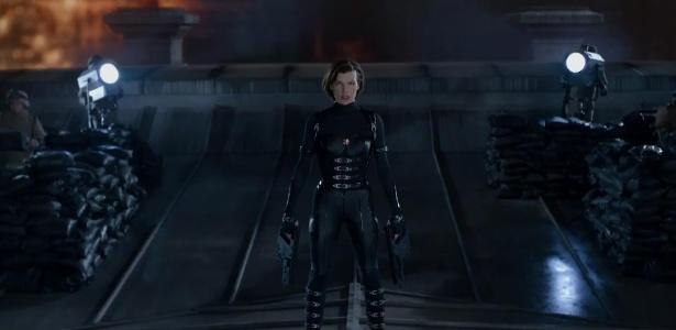 """Milla Jovovich interpreta Alice mais uma vez em """"Resident Evil 5: Retribuição"""""""