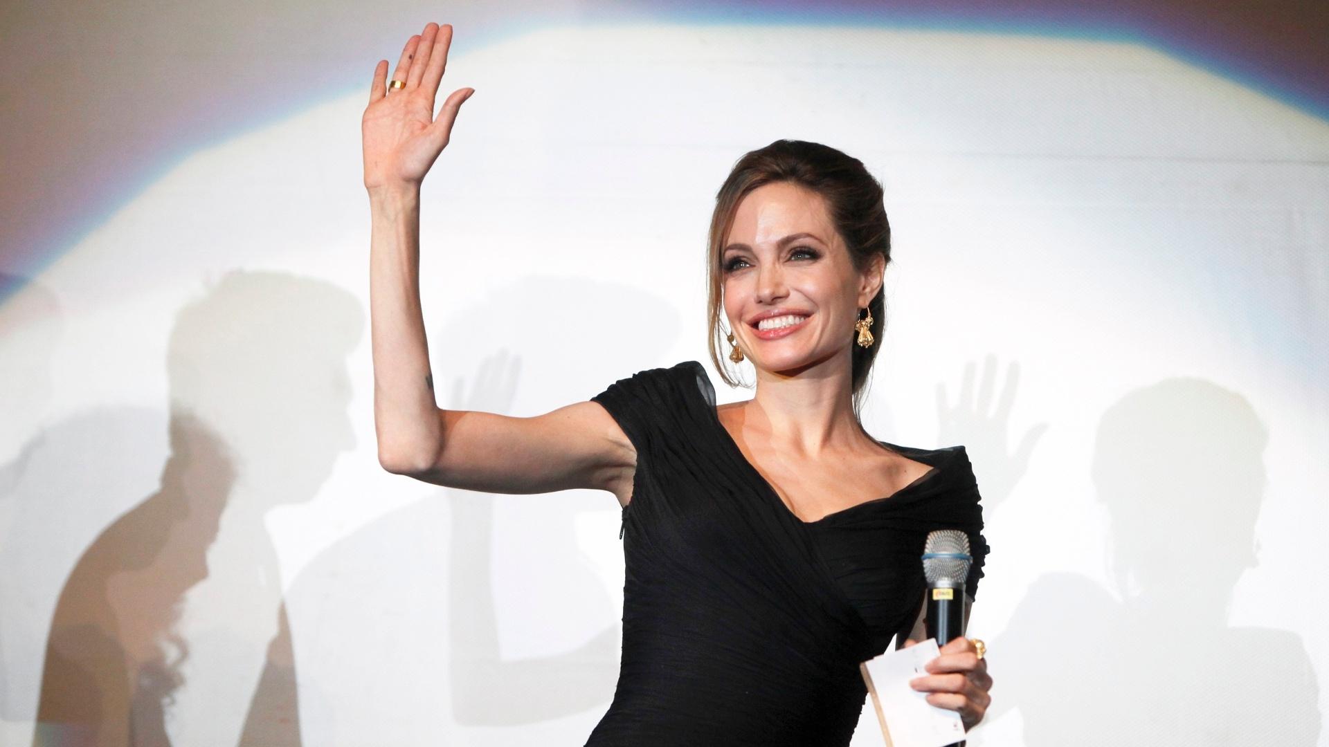 Angelina Jolie em pré-estreia de