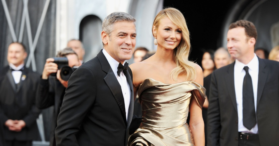 O ator George Clooney, indicado ao Oscar de melhor ator por 