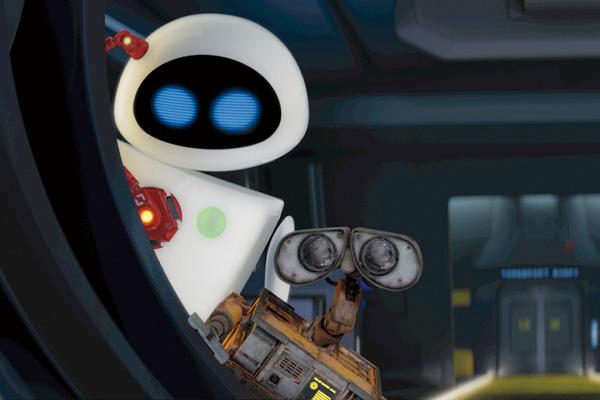 Wall-E e Eve