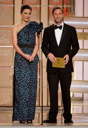 Maggie Gyllenhaal e Aaron Eckhart