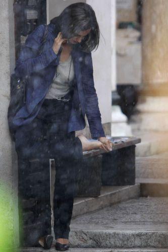 Penélope Cruz grava cenas do filme