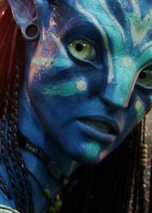 """Neytiri é uma Na""""vi em """"""""Avatar"""""""", filme de James Cameron - Divulgação"""
