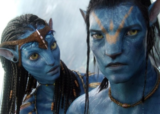 Personagens Na'vi em cena de ''Avatar'', filme de James Cameron