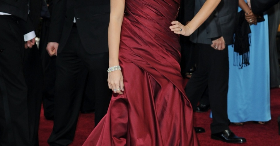 A atriz espanhola Penélope Cruz chega ao Kodak Theater, em Los Angeles, para a 82ª cerimônia de entrega dos prêmios Oscar (07/03/2010)