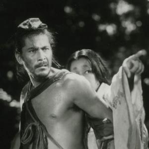 "Cena do filme ""Rashomon"", do cineasta japonês Akira Kurosawa"