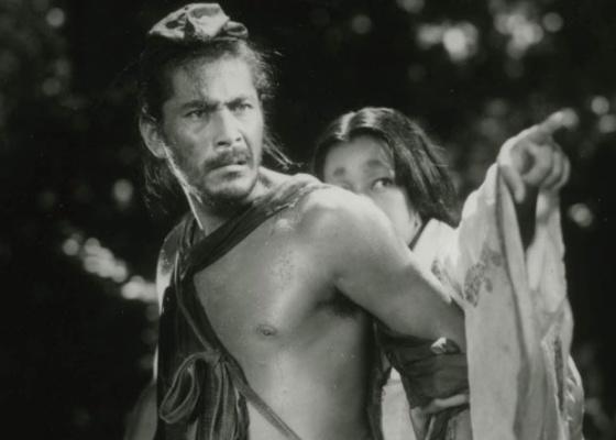 Cena do filme Rashomon, do cineasta japonês Akira Kurosawa