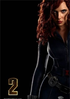 Scarlett Johansson estampa pôster de
