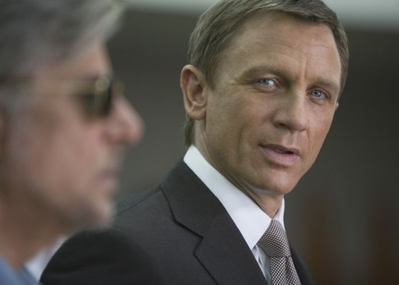 Daniel Craig é James Bond no filme ''Quantum of Solace'', de 2008