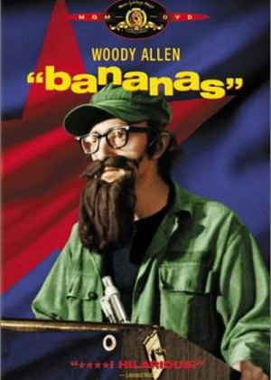Pôster do filme ''Bananas'', de Woody Allen