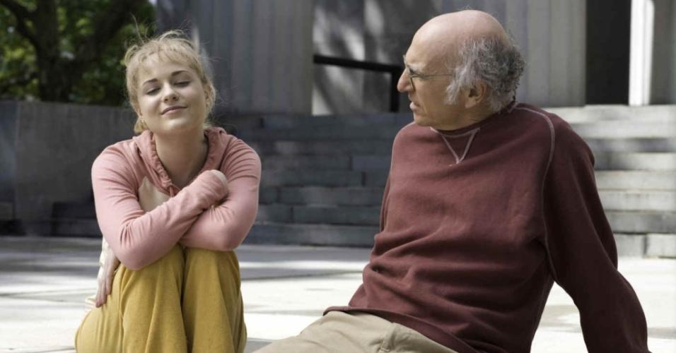 Cena de ''Tudo Pode dar Certo'', filme de Woody Allen
