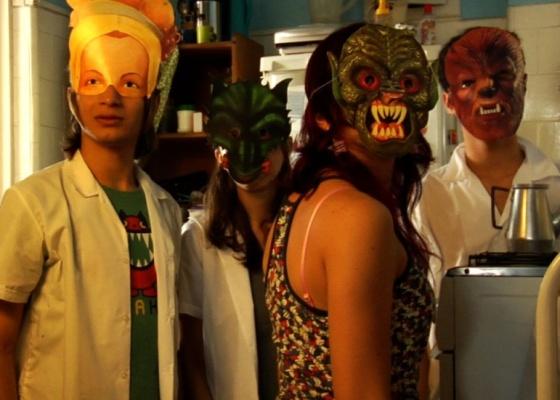 Cena do filme brasileiro ''A Alegria'', sobre juventude