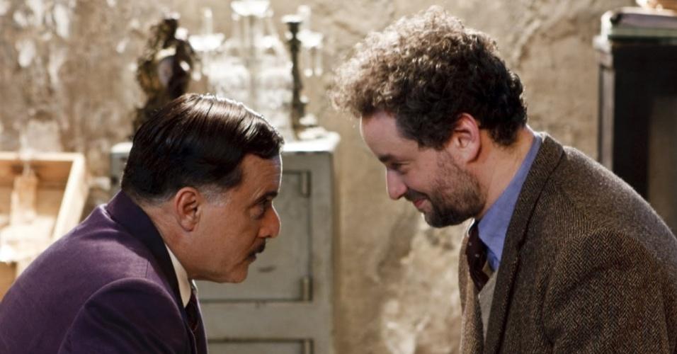 Tony Ramos e Dan Stulbach em cena do filme