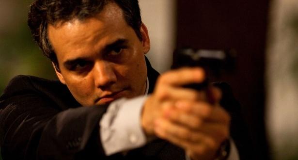 Wagner Moura em cena de ''Tropa de Elite 2'', filme dirigido por José Padilha